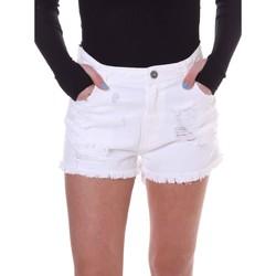 Oblačila Ženske Kratke hlače & Bermuda Fornarina BE172B92D877KM Biely