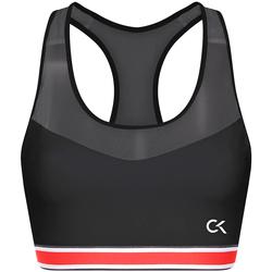 Oblačila Ženske Športni nedrčki Calvin Klein Jeans 00GWT9K127 Črna