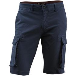 Oblačila Moški Kratke hlače & Bermuda Lumberjack CM80747 005 602 Modra
