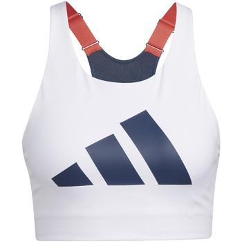 Oblačila Ženske Športni nedrčki adidas Originals GL0587 Biely