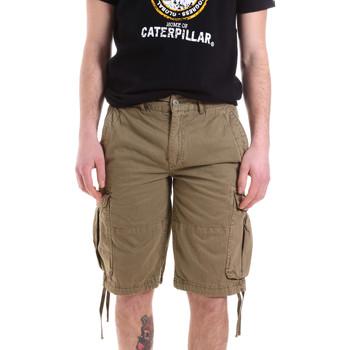 Oblačila Moški Kratke hlače & Bermuda Caterpillar 35CC2820928 Zelena