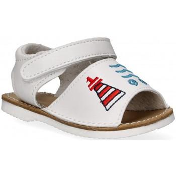 Čevlji  Deklice Sandali & Odprti čevlji Bubble 54800 Bela