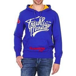 Oblačila Moški Puloverji Franklin & Marshall SUNBURY Modra