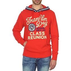 Oblačila Moški Puloverji Franklin & Marshall GOSFORD Rdeča