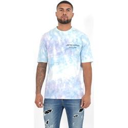Oblačila Moški Polo majice dolgi rokavi Sixth June T-shirt  Custom Tie Dye noir