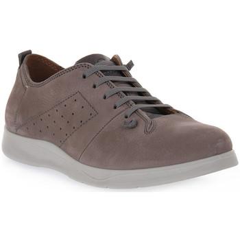 Čevlji  Moški Čevlji Derby Grunland GRIGIO MICO Grigio