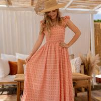 Oblačila Ženske Dolge obleke Céleste AURORE Rožnata