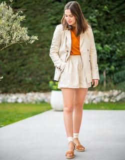 Oblačila Ženske Jakne & Blazerji Céleste ALIZE Bež