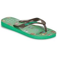 Čevlji  Dečki Japonke Havaianas KIDS MINECRAFT Zelena