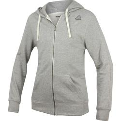 Oblačila Moški Puloverji Reebok Sport Fitness El French Terry Full Zip Siva