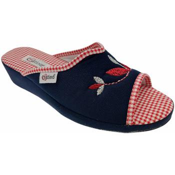 Čevlji  Ženske Natikači Cristina CRI51blu blu