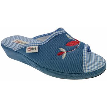 Čevlji  Ženske Natikači Cristina CRI51avio blu