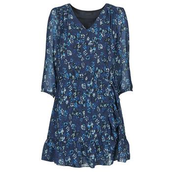 Oblačila Ženske Kratke obleke Ikks BS30055 Modra