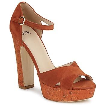Čevlji  Ženske Sandali & Odprti čevlji JFK OKADOLA Oranžna