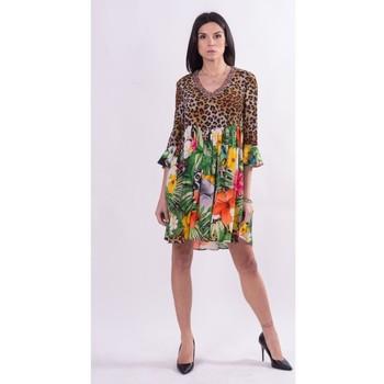 Oblačila Ženske Kratke obleke Fracomina FR21SD1008W422N4 Brezbarven