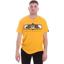 Oblačila Moški Majice s kratkimi rokavi Caterpillar 35CC2510234 Rumena