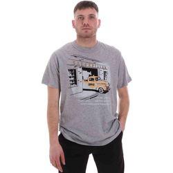 Oblačila Moški Majice s kratkimi rokavi Caterpillar 35CC2510217 Siva