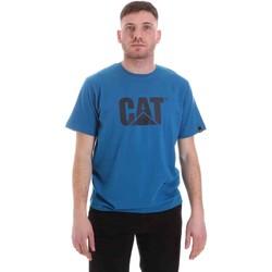 Oblačila Moški Majice s kratkimi rokavi Caterpillar 35CC2510150 Modra