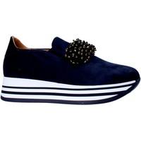 Čevlji  Ženske Slips on Grace Shoes MAR015 Modra