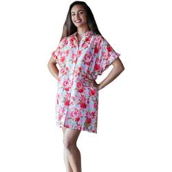 Oblačila Ženske Pareo Isla Bonita By Sigris Poncho Shirt Rojo