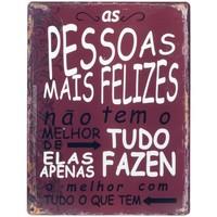Dom Slike, platna Signes Grimalt Wall Plošča Pessoas Felizes Rojo
