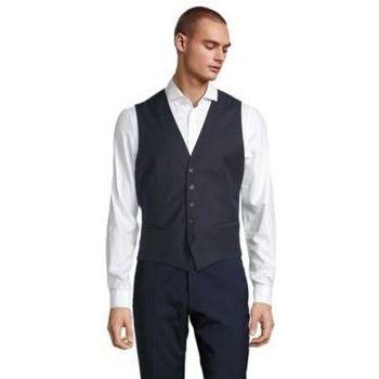 Oblačila Moški Telovnik  Sols MAX MEN Negro noche