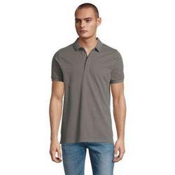 Oblačila Moški Polo majice kratki rokavi Sols OWEN MEN Gris claro