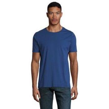 Oblačila Moški Majice s kratkimi rokavi Sols LUCAS MEN Azul oscuro
