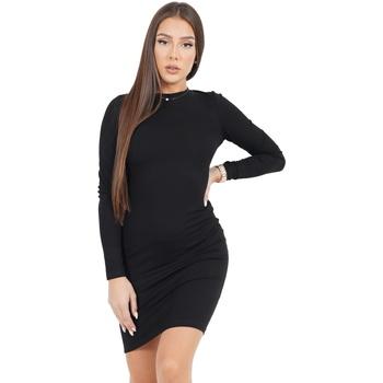 Oblačila Ženske Kratke obleke Sixth June Robe femme  Classique noir