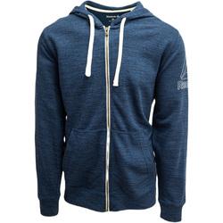 Oblačila Moški Puloverji Reebok Sport Fitness Elements Marble Group Full Zip Modra