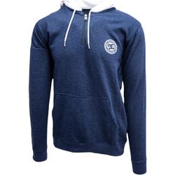 Oblačila Moški Puloverji DC Shoes Rebel Half-Zip Hoodie Modra