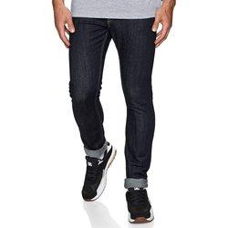 Oblačila Moški Kavbojke slim DC Shoes Worker Indigo Rinse Slim Fit Jeans Modra