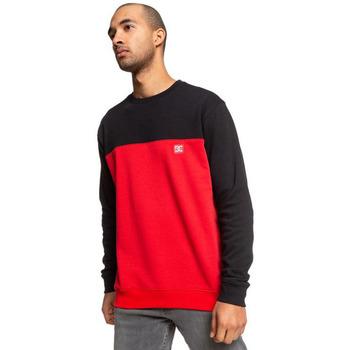 Oblačila Moški Športne jope in jakne DC Shoes Rebel Crew Block 3 Red/black Rdeča