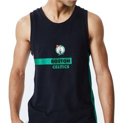 Oblačila Moški Majice brez rokavov New-Era Nba Boston Črna