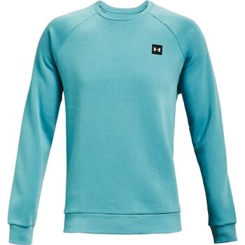 Oblačila Moški Športne jope in jakne Under Armour Rival Fleece Crew Modra