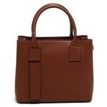 Torbice Ženske Ročne torbice Maison Heritage MINI FARA MARRON