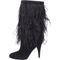 Čevlji  Ženske Mestni škornji    MICHAEL Michael Kors Čevlji BJ760 Črna