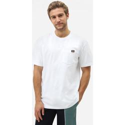 Oblačila Moški Majice s kratkimi rokavi Dickies Porterdale tshirt mens Bela