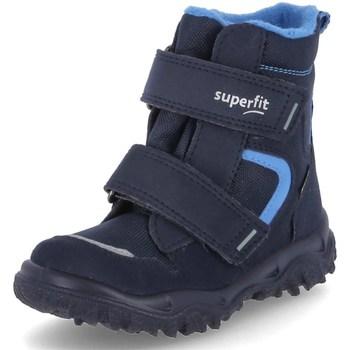 Čevlji  Dečki Škornji za sneg Superfit Husky 1 Modra