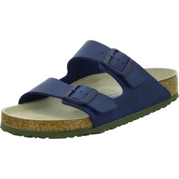 Čevlji  Moški Natikači Birkenstock Arizona BS Mornarsko modra