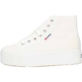 Čevlji  Ženske Visoke superge Superga 2705HITTOP White