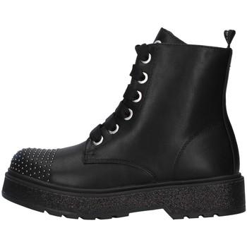 Čevlji  Deklice Polškornji Café Noir C-800 BLACK
