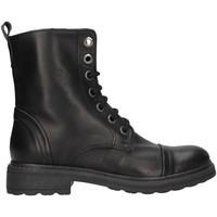 Čevlji  Ženske Mestni škornji    Unica 10190 BLACK
