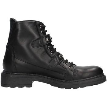 Čevlji  Ženske Gležnjarji Unica 10191 BLACK