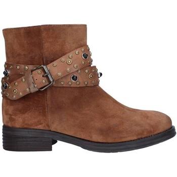 Čevlji  Ženske Gležnjarji Zoe 0050 BROWN