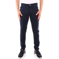 Oblačila Moški Elegantne hlače Roy Rogers P21RRU089P3180112 NAVY BLUE