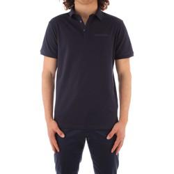 Oblačila Moški Polo majice kratki rokavi Trussardi 52T00488 1T003603 NAVY BLUE