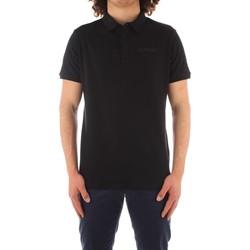 Oblačila Moški Polo majice kratki rokavi Trussardi 52T00488 1T003603 BLACK