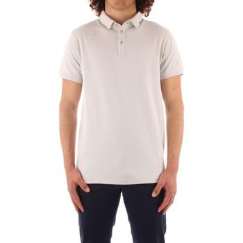 Oblačila Moški Polo majice kratki rokavi Trussardi 52T00488 1T003603 WHITE