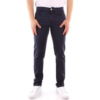 Oblačila Moški Hlače Chino / Carrot Trussardi 52J00007 1T005015 NAVY BLUE